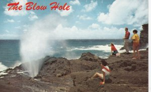 The Blow Hole , Hawaii , 50-60s