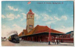 Union RR Station, Springfield IL