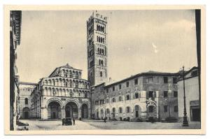 Italy Lucca Toscany Cathedral San Martino Postcard