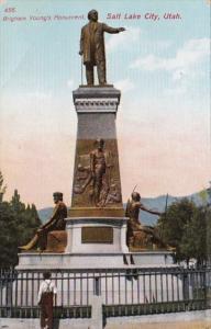 Utah Salt Lake City Brigham Young Monument