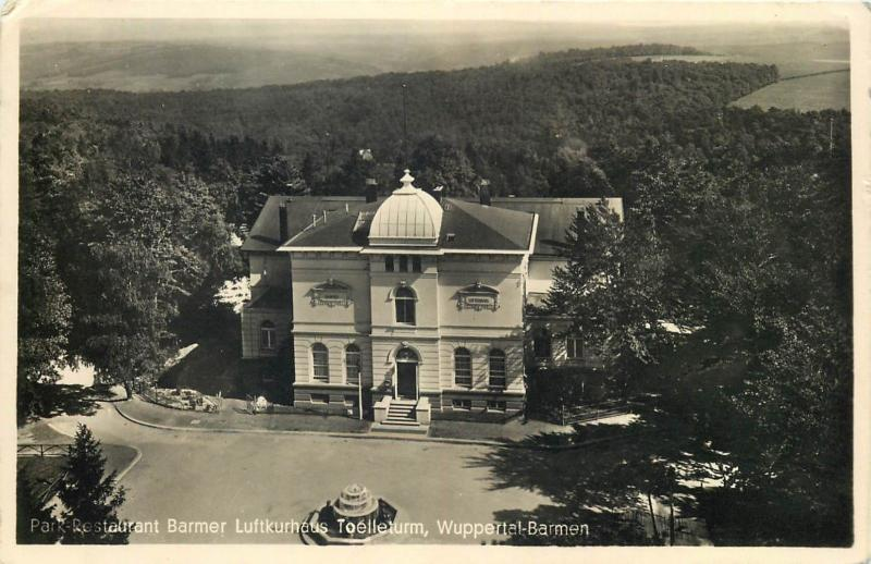 Park Restaurant Barmer Wuppertal Germany 1939