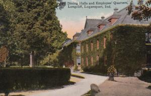 Indiana Logansport Longcliff Dining Halls and Employees' Quarters 1919