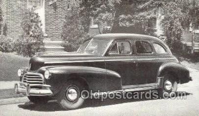 1946 Chevrolet Style master 4 Door Sedan Automotive, Autos, Cards Old Vintage...