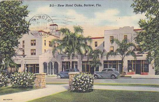 New Hotel Oaks, Bartow, Florida, PU-1948