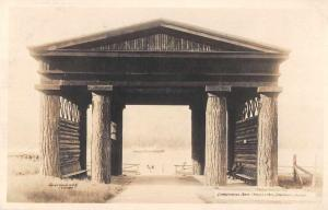 Vancouver Canada Stanley Park Lumberjack Arch Real Photo Postcard J77098