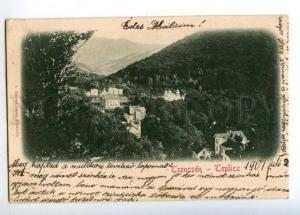 152102 Slovakia Trencin Trencsen TEPLICZ Vintage postcard