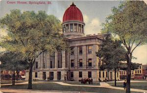 11653 IL Springfield 1910  Court House