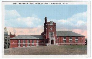 Worcester, Mass, New Gymnasium, Worcester Academy