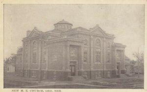 ORD , Nebraska , 00-10s ; New M.E. Church