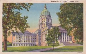 Kansas Topeka State Capitol Building Curteich