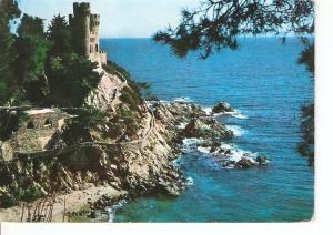 Postal 038334 : Costa Brava Lloret de Mar. Castillo Sa Caleta