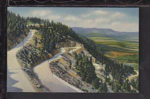 Broadmoor-Cheyenne Highway,Colorado Springs,CO Postcard