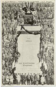 Pantheon De La Guerre La Victoire, Divided Back