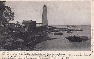 The Old Lighthouse New Haven Connecticut 1906