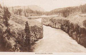 RP, Bridge, Miles Canyon, Yukon, Canada, 1920-1940s