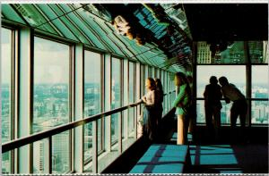 Commerce Court Toronto Ontario ON 57th Floor Observation Gallery Postcard F2
