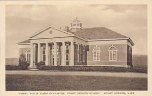 Massachusetts Mount Herman School The Daniel Willis James Gymnasium Albertype