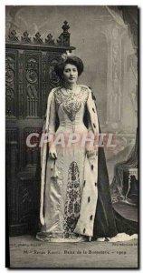 Troyes Kuntz Queen - Queen of Hosiery 1909 Old Postcard