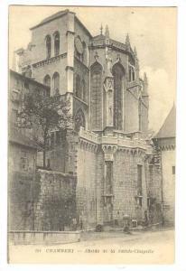 Abside De La Sainte-Chapelle, Chambéry (Savoie), France, 1900-1910s