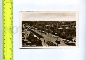 204380 IRAQ BAGHDAD Battaween Avenue old photo postcard