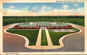 Louisiana Monroe Municipal Natatorium Curteich