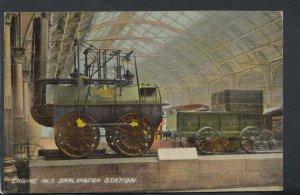 Durham Postcard - Railways - Engine No.1, Darlington Station  RS10670