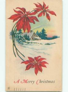 Divided-Back CHRISTMAS SCENE Great Postcard AA0059