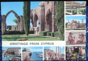 Cyprus Greetings Multi-view - posted 1988