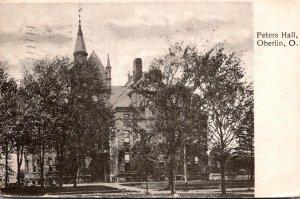 Ohio Oberlin Peters Hall
