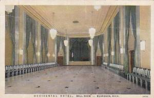 Michigan Muskegon Occidental Hotel Ball Room