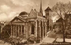 Switzerland - Geneva. St. Peter Cathedral