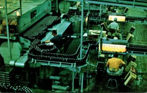 Wisconsin Milwaukee Jos Schlitz Brewing Company Bottling Line