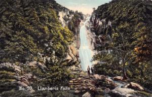 Vintage Postcard Llanberis Falls, North Wales No.39
