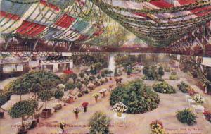 Illinois Chicago Interior Of Coliseum Flower Show 1908