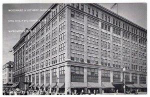Washington, D.C., Woodward & Lothrop, Main Store