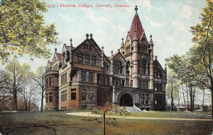 Victoria College, Toronto, Ontario, Canada, Early Postcard, Used
