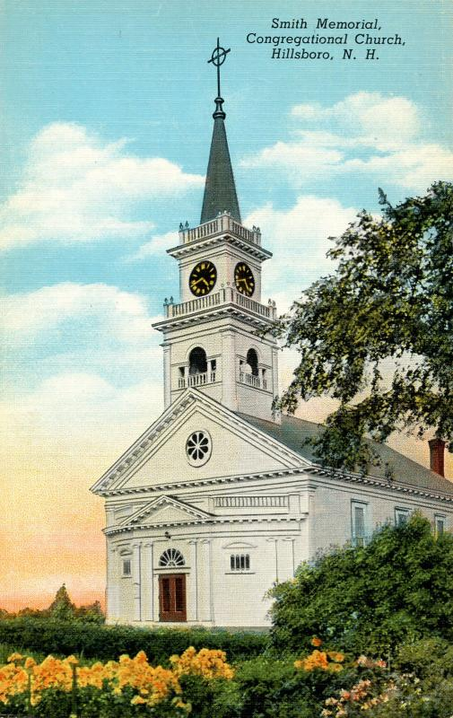 NH - Hillsboro. Smith Memorial Congregational Church