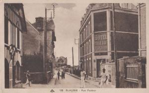 Saint Aubin Hotel BelleVue Belle Vue Rue Pasteur Antique Postcard
