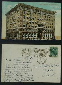 Winnipeg Grain exchange PC (corner crease) pmkd 1912
