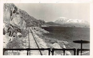 Real Photo Postcard White Pass Yukon Railroad, Alaska~130727