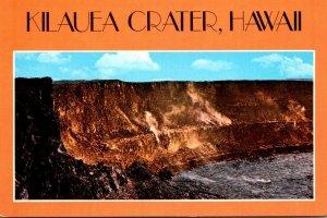 Hawaii Kilauea Crater