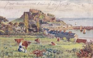 Mont Orgueil Castle , JERSEY , PU-1905