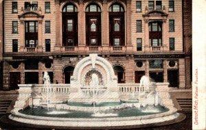Michigan Detroit Palmer Fountain