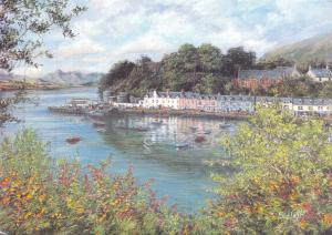 Postcard Art Portree, Isle of Skye by Sue Firth Large 170x120mm