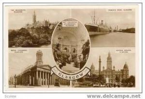 5-Views, RP, Views Around Glasgow, Scotland, 40-50s