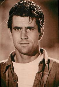 Young Mel Gibson Foto Parjetas Grand Via 44 Madrid 8 Movies   Postcard  # 7642