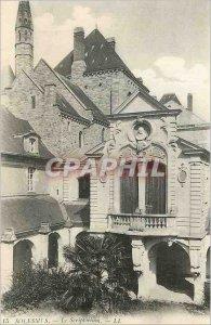 Old Postcard Solesmes The Scriptorium LL