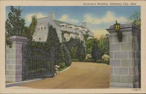 Governor's Mansion Oklahoma City Oklahoma linen
