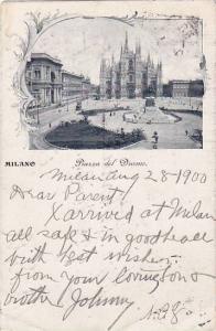 Piazza Del Duomo, Milano (Lombardy), Italy, PU-1900