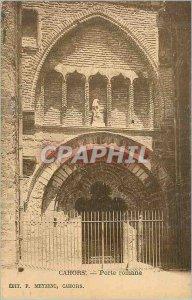 Postcard Ancient Roman Gate Cahors